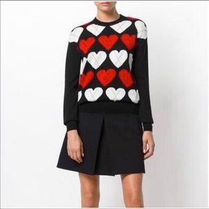 Moschino Hearts Argyle Sweater